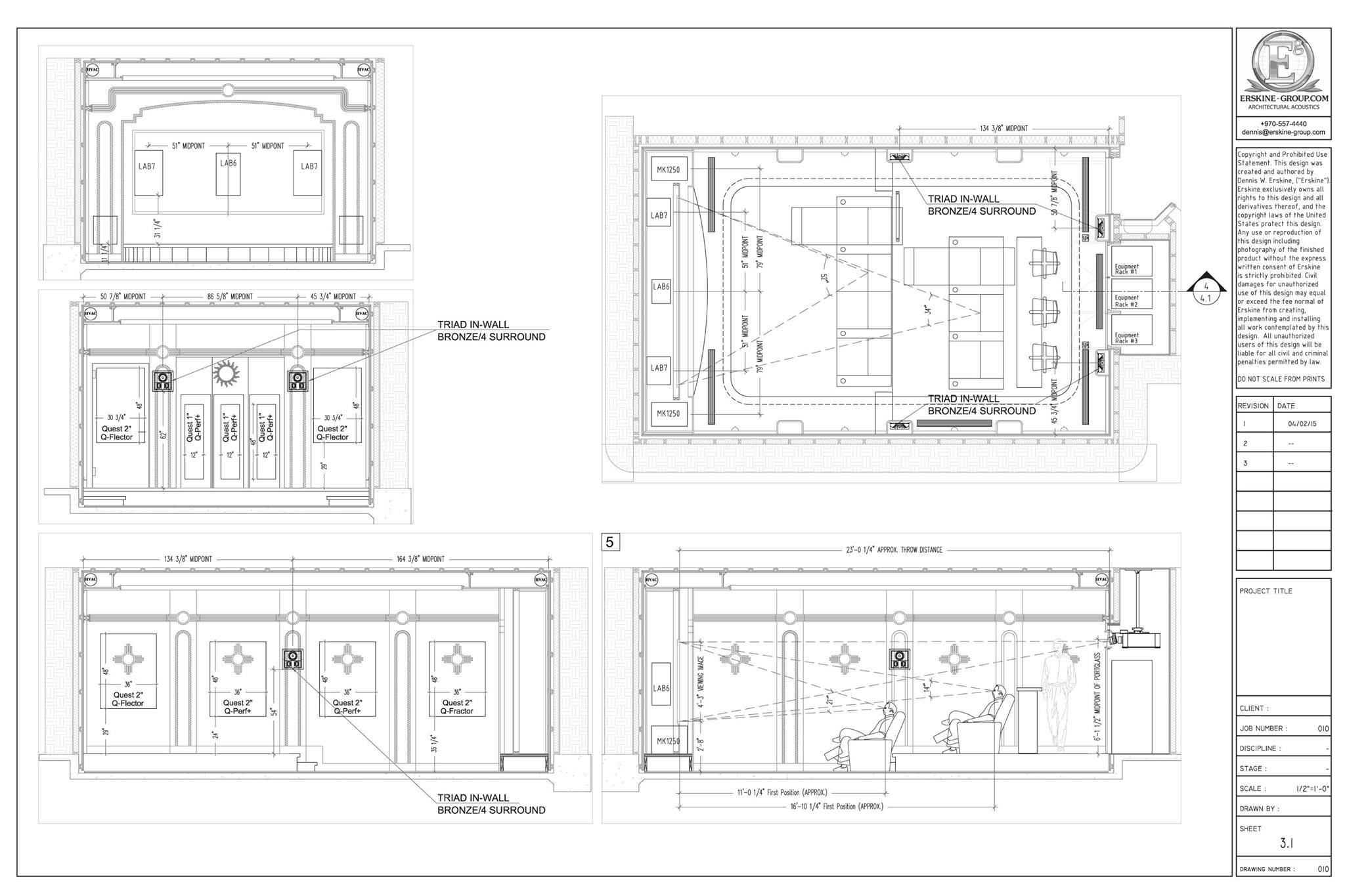 The Importance of   Professional Design and Planning for Home Theaters